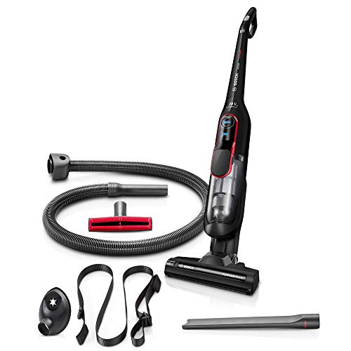 Bosch Athlet ProPower Aspirador Escoba sin Cable, 3,3 kg, 0.9 litros, 3 Velocidades, Negro
