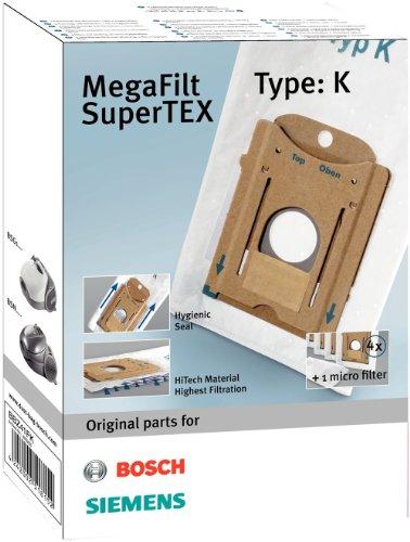 Bosch Megaair SuperTex BBZ41FK - Bolsas para aspiradora, tipo K